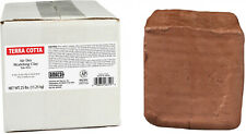 Air Dry Clay Sculpting Terra Cotta 25 lb Block Hand Modeling Pottery Mold Making