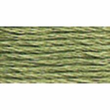 DMC 117-522 Six Strand Embroidery Cotton Floss, Fern Green