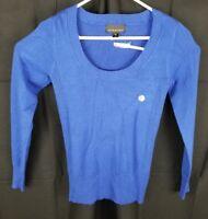 Attention Women's Sweater (Blue, S)