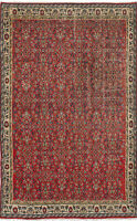 "Hand-knotted Turkish Carpet 5'7"" x 9'4"" Melis Vintage Wool Rug...DISCOUNTED!"
