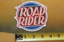 Road Rider Wheels Santa Cruz Skateboards SC Logo Vintage Skateboarding STICKER