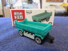 Tomica Taito Prize Half Size P051 Isuzu Giga Dump Trailer GN Truck N Scale 1:160