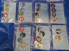 HIDDEN MICKEY SET OF ALL A TO Z ALPHABET PINS (26 PCS) WALT DISNEY WORLD