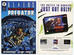 Aliens Predator Deadliest of Species #1 (NM 9.4) 1993 Dark Horse Claremont