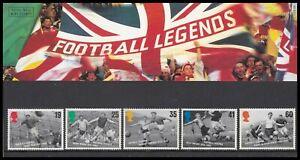 1996 GB Football Legends Royal Mail Presentation Pack No.267