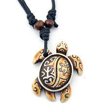 Cool Surfer Sea Turtle Pendant Necklace