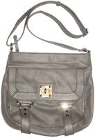 Nine West Handbag Hobo Purse Shoulder Crossbody Bag Satchel Gray