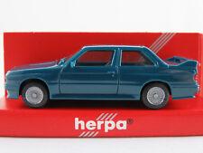 Herpa 020619 BMW M3 (1986-1990) in ozeanblau 1:87/H0 NEU/OVP