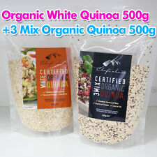 Organic White Quinoa 500g + 3 Mix Organic Quinoa 500g 100% natural