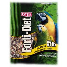 Kaytee 100509740 Forti-Diet Parrot Food, 5 Lbs