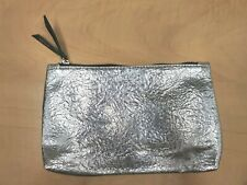 IPSY MAKEUP BAG SILVER BRAND NEW