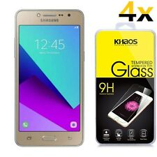 4x KHAOS For Samsung Galaxy J2 Ace HD Tempered Glass Screen Protector