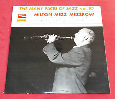 MILTON MEZZ MEZZROW  MANY FACES OF JAZZ N° 10 ORIG LP FR VOGUE