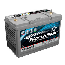 NorthStar NSB-AGM31 Ultra High Performance AGM Battery 1150 CCA sold by Chrome
