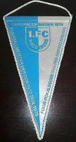 Wimpel 19 x 11cm 1.FC Magdeburg DDR Oberliga Erfolge bis 1979 DFV FCM Fussball