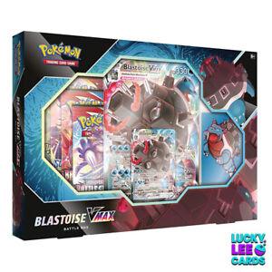 Pokemon Blastoise VMAX Battle Box Collection | New & Sealed | TCG Cards
