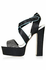 Topshop Block Ankle Straps Shoes for Women