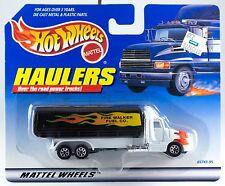 Hot Wheels Haulers Fire Walker Fuel Tanker Truck New On Card 1998