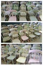 Mix Match Painted Farmhouse Country Style Kitchen Dining Chairs Refurb or New