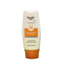 Eucerin Sun Allergy Protect SPF50 SUN CREAM GEL 150ml For Face & Body Non-Greasy