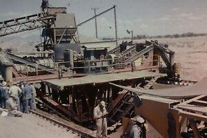 WELLTON MOHAWK CANAL CONSTRUCTION 35MM SLIDE (CIRCA 1950`S) LOT L107