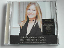 Barbra Streisand - What Matters most (CD Album) Used Very Good