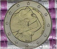 Rouleau 25 x 2 euros MALTE 2014 - Indépendance 1964-2014 - 16 000 ex. - UNC