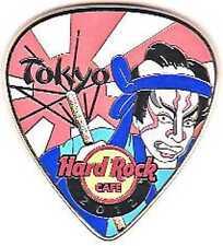 Hard Rock Cafe TOKYO 2012 Postcard Guitar Pick Series Pin LE300
