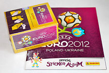 Panini EM Euro 2012 INTERNATIONAL VERSION: 1 x BOX DISPLAY + Leeralbum ALBUM