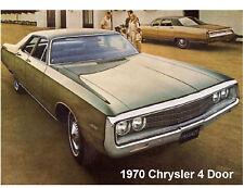 1970 Chrysler 4 - Door  Refrigerator  Magnet