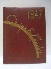 Vtg 1947 Davidson College NC North Carolina QUIPS & CRANKS Yearbook Annual VGC!