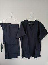 Unisex Scrub Set Top & Pants Set - Dark Gray Grey Xl Extra Large New Free Ship