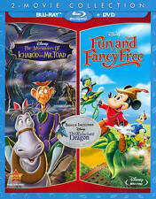 Adventures of Ichabod and Mr. Toad/Fun and Fancy Free Blu-ray/DVD, 2014 Disney