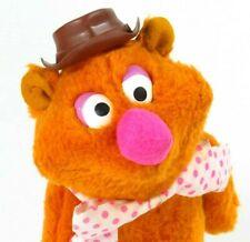 "Vintage Fozzie Bear Plush Muppets Fisher Price 1976 Doll 14"" Stuffed Animal 851"