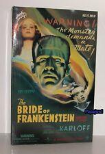 "Universal Monsters Sideshow Boris Karloff The Bride of Frankenstein 12"" Figure"