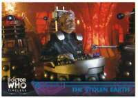 2016 Topps Doctor Who Timeless Blue Foil Parallel /99 #66 The Stolen Earth