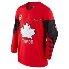 Nike Team Canada Nike 2018 Olympic Red Hockey Jersey size XL