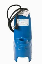 Goulds PS41M Submersible Sewage Pump, 4/10 HP, 115V