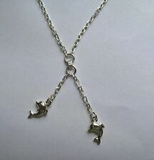 Sterling Silver Animals Insects Chain Fine Necklaces & Pendants without Stones