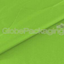 50 Hojas De Verde Lima de ácido libre de papel tisú 500mm X 750mm, 18gsm * calidad *