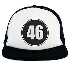 Hat 46, Trucker Cap With Mesh, Style Moto Gp , Motorcycling, Pilot, Tifoso