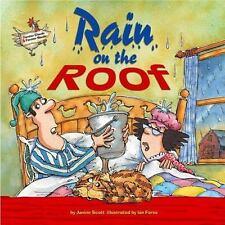Rain on the Roof (Farmer Claude and Farmer Maude)-ExLibrary