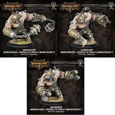 WARMACHINE Mercenaries PIP41085 Subduer Warden Wrecker Monstrosity Kit NEW