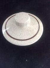 Vintage Poole Pottery Parkstone Pattern Coffee Pot lid VGC