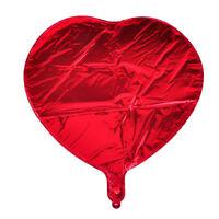 "10x 18"" Folienballon Herz Love Luftballon Helium Balloon Rot für Hochzeit Party"