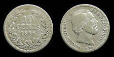 Netherlands - 10 Cent 1855