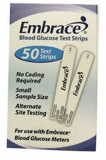 Omnis Health Embrace Blood Glucose Test Strips - 50 Pack
