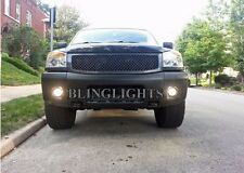 Blue Angel Eye Fog Lamps Driving Lights Halo Kit for 2008-2015 Nissan Titan