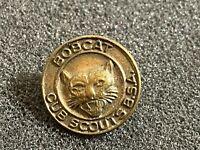 Vintage bobcats boyscout pin