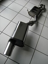 MH-DEZENT Sportauspuff a. KAT Mercedes SL 280 V6 R129 Optik wie Serie ! Mopf 2 !